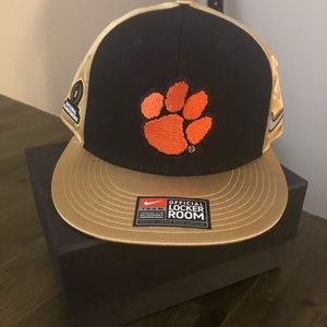 2016 National Champs Clemson Tigers hat
